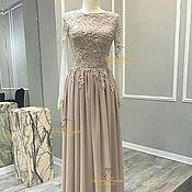 Одежда ручной работы. Ярмарка Мастеров - ручная работа Шикарное платье. Handmade.