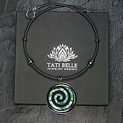 Украшения handmade. Livemaster - original item Choker with pendant