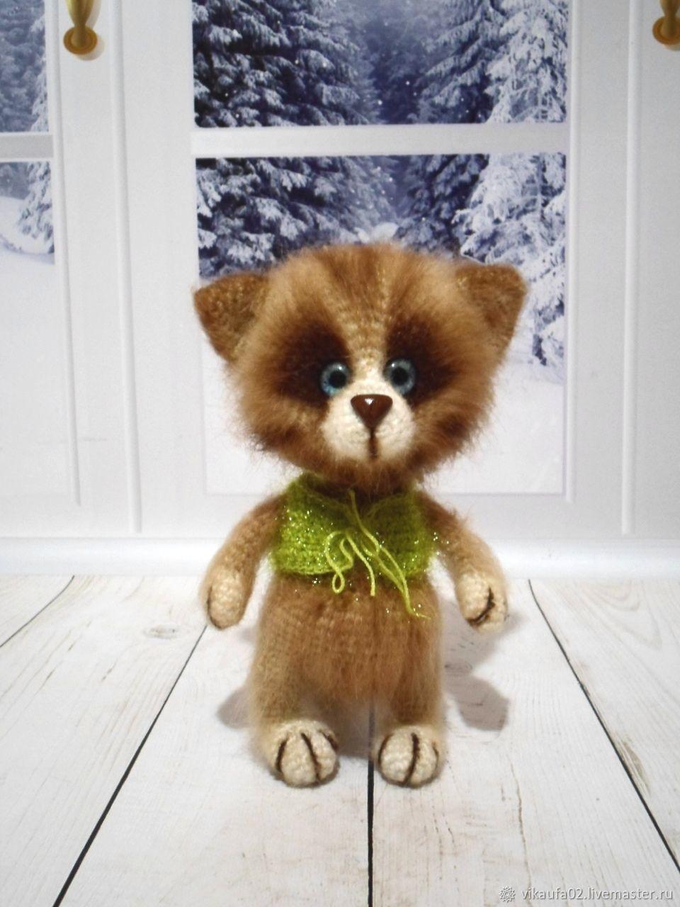 Котик полосатый, Мягкие игрушки, Уфа,  Фото №1