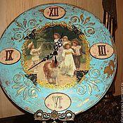 """Для дома и интерьера ручной работы. Ярмарка Мастеров - ручная работа Старинные часы  """"Виардо"""". Handmade."""