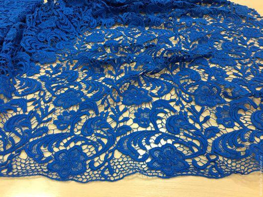 Шитье ручной работы. Ярмарка Мастеров - ручная работа. Купить Кружево макраме (синее и коралловое). Handmade. Синий, платье кружевное