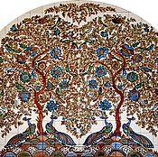 Дизайн и реклама handmade. Livemaster - original item Painting ceramic Painting tile Murals on tile.. Handmade.