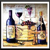 Салфетка для декупажа Старое вино Раритет