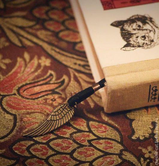 Персональные подарки ручной работы. Ярмарка Мастеров - ручная работа. Купить Додо. Закладки для книг. Handmade. Комбинированный, стимпанк