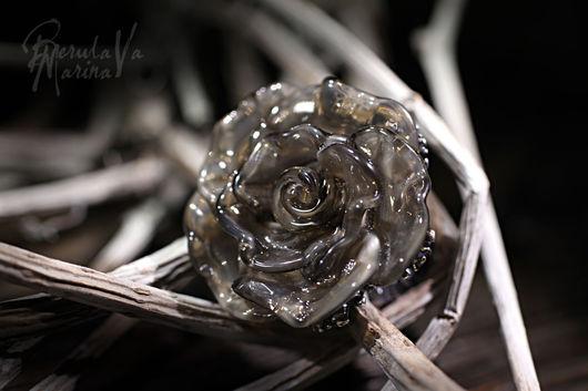 """Кольца ручной работы. Ярмарка Мастеров - ручная работа. Купить Кольцо """"Благородные оттенки"""". Handmade. Лэмпворк, ручная работа"""