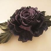 Украшения handmade. Livemaster - original item The colors of the skin .Decoration brooch hairpin BLUEBERRY ROSE. Handmade.