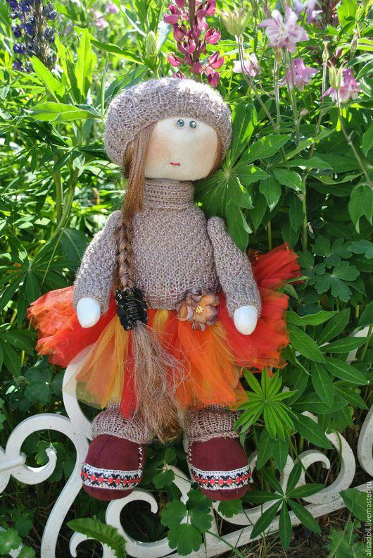 Человечки ручной работы. Ярмарка Мастеров - ручная работа. Купить Кукла Даша. Handmade. Комбинированный, кукла, кукла текстильная