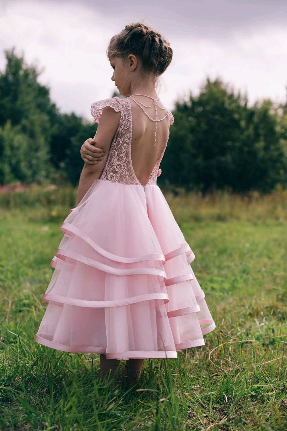 Платье для девочки, Платья, Москва,  Фото №1