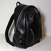 Сумки и аксессуары handmade. Livemaster - original item Backpack leather city 19. Handmade.