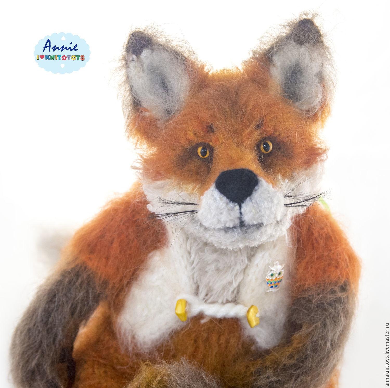 вязаная лиса, рыжий лис, лисичка вязаная, лисичка игрушка, лисичка рыжая, игрушка в подарок, лисичка в подарок, рыжая лиса в подарок, мягкая игрушка лисичка
