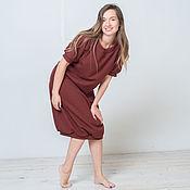 Одежда ручной работы. Ярмарка Мастеров - ручная работа Уютное теплое платье 2U Terra. Handmade.