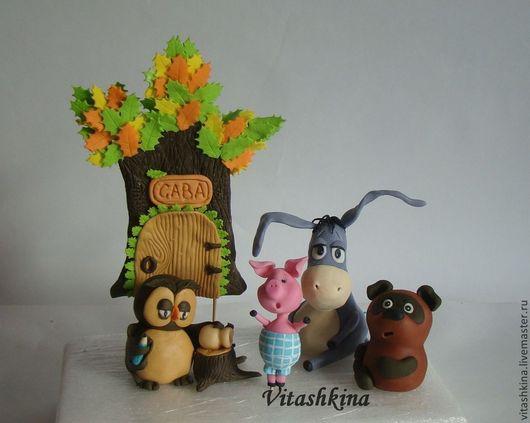 Персональные подарки ручной работы. Ярмарка Мастеров - ручная работа. Купить Фигурки на торт из мультиков. Handmade. Фигурки на торт