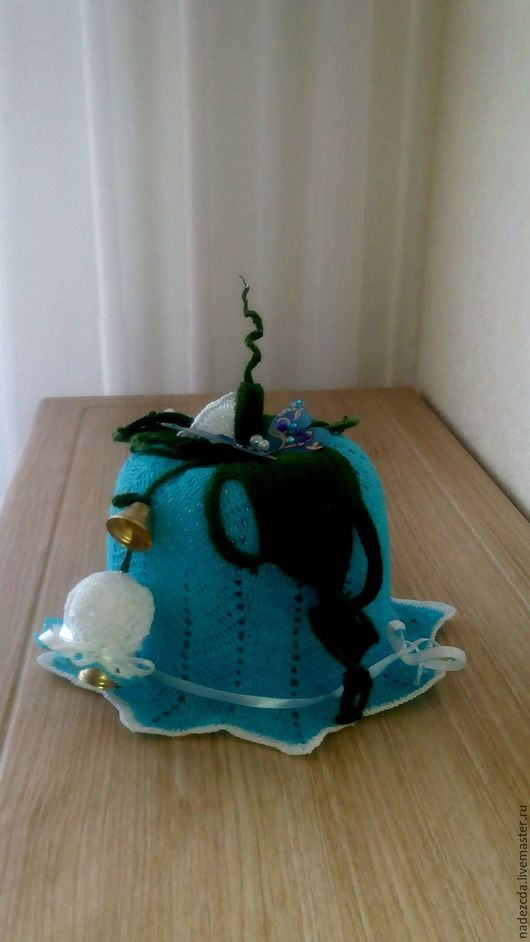 Шляпы ручной работы. Ярмарка Мастеров - ручная работа. Купить Шляпка. Handmade. Синий, шляпка для девочки