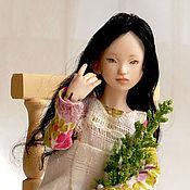 Куклы и игрушки ручной работы. Ярмарка Мастеров - ручная работа ХиДжин (фарфоровая шарнирная кукла). Handmade.