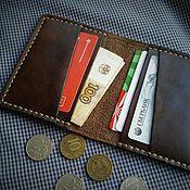 Сумки и аксессуары handmade. Livemaster - original item Cardholders card case mini purse wallet. Handmade.