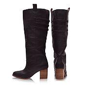 Обувь ручной работы. Ярмарка Мастеров - ручная работа Lost Lover. Стильные кожаные сапоги для весны и осени.. Handmade.