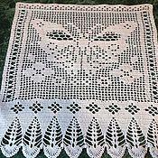 Для дома и интерьера ручной работы. Ярмарка Мастеров - ручная работа Маленькая шторка. Handmade.
