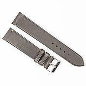 Украшения handmade. Livemaster - original item Dark grey genuine leather strap. Handmade.