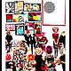 картина, купить картину, символизм, сюрреализм, абстракция, супрематизм, современное искусство, люди с другими головами, головы цветы, люди с головами