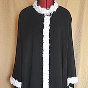 """Одежда ручной работы. Ярмарка Мастеров - ручная работа Пончо """" Версаль"""". Handmade."""