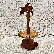 """Для дома и интерьера ручной работы. Ярмарка Мастеров - ручная работа ,,Петушок"""" деревянная заготовка для салфеток. Handmade."""
