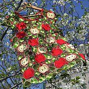 """Одежда ручной работы. Ярмарка Мастеров - ручная работа Блузка """" Яблочки"""". Handmade."""