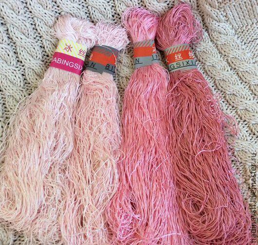 Вязание ручной работы. Ярмарка Мастеров - ручная работа. Купить Вискоза. Handmade. Нитки, шелк вискозный, нитки для вязания