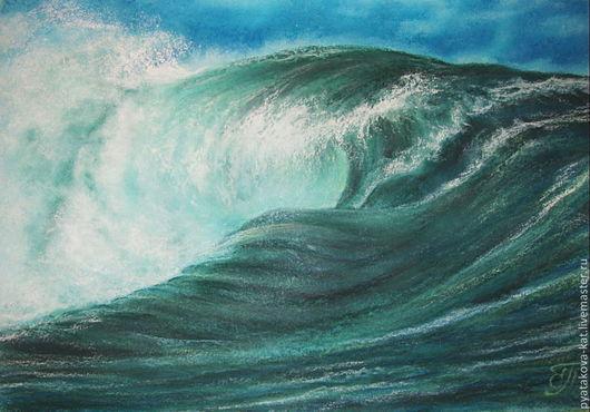 Картина пастелью `Вчера, сегодня, завтра` Екатерина Пятакова