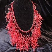 Украшения handmade. Livemaster - original item Necklace Ruby coral. Handmade.