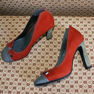 Обувь ручной работы. Ярмарка Мастеров - ручная работа Винтаж: Улётные туфли Lisette. Handmade.