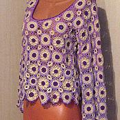 Одежда handmade. Livemaster - original item The shirt is from motives. Handmade.