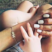 Украшения ручной работы. Ярмарка Мастеров - ручная работа Браслет для мамы мальчика или девочки. Браслет дети из серебра. Handmade.