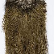 Материалы для творчества ручной работы. Ярмарка Мастеров - ручная работа Перья Coq de Leon Silver Rooster Saddle (51202043). Handmade.