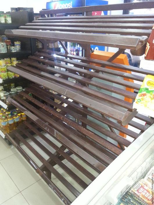 Мебель ручной работы. Ярмарка Мастеров - ручная работа. Купить Стеллажи и другие деревянные конструкции. Handmade. Коричневый, дерево