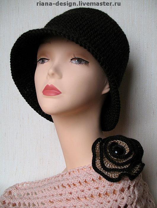 """Шляпы ручной работы. Ярмарка Мастеров - ручная работа. Купить Шляпа """"Шик"""". Handmade. Шляпка, шляпа вязаная, Вязание крючком"""