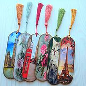 handmade. Livemaster - original item Bookmark wooden. Handmade.
