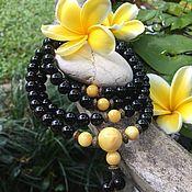 Украшения handmade. Livemaster - original item Buddhist rosary from Baltic amber. Handmade.