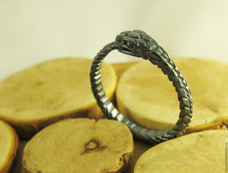 Dark Ouroboros ring unisex, Rings, Zaporozhye,  Фото №1