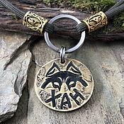 Зоотовары handmade. Livemaster - original item Addressee medallion for husky. Handmade.