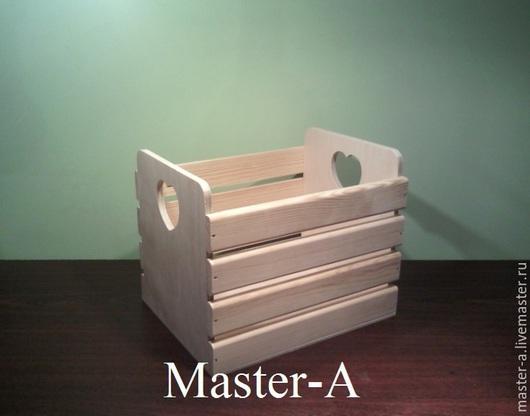 Короб реечный №3 (4-20,5х26) - заготовка для декупажа