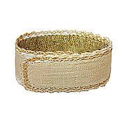 Украшения handmade. Livemaster - original item Bracelet nettle for office. Beige.. Handmade.