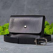 Сумки и аксессуары handmade. Livemaster - original item Pouch belt. Handmade.