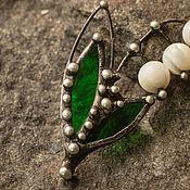 handmade. Livemaster - original item Lily of the Valley brooch (bro-006). Handmade.