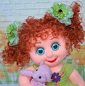 Куклы и игрушки ручной работы. Ярмарка Мастеров - ручная работа Кукла вязаная Ульяна. Handmade.