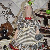 Куклы и игрушки ручной работы. Ярмарка Мастеров - ручная работа Тильда зайки текстильные, интерьерные.. Handmade.