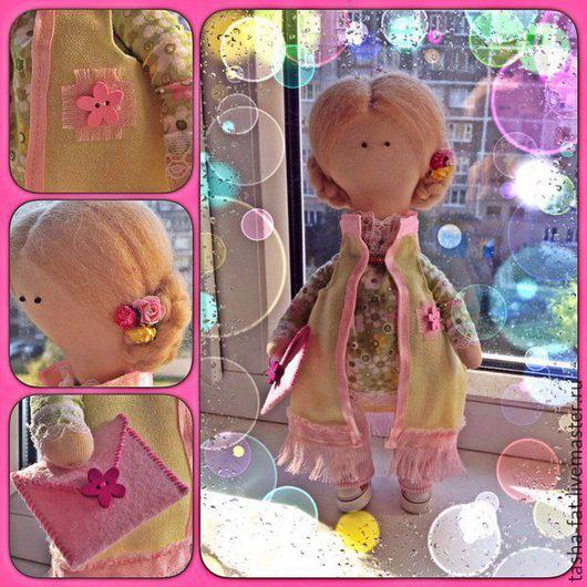 Куклы тыквоголовки ручной работы. Ярмарка Мастеров - ручная работа. Купить Кукла Софи для девочки Софьи. Handmade. Разноцветный, кукла