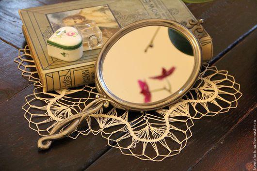 """Винтажные сувениры. Ярмарка Мастеров - ручная работа. Купить Зеркало """"Веточка ивы"""". Handmade. Зеркало, Зеркало в подарок, винтаж"""