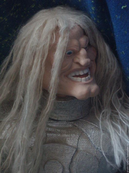 Коллекционные куклы ручной работы. Ярмарка Мастеров - ручная работа. Купить Угрюмый рыцарь. Handmade. Белый, рыцарь, особый подарок