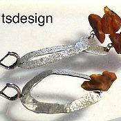 Украшения handmade. Livemaster - original item Earrings with Baltic amber. Handmade.