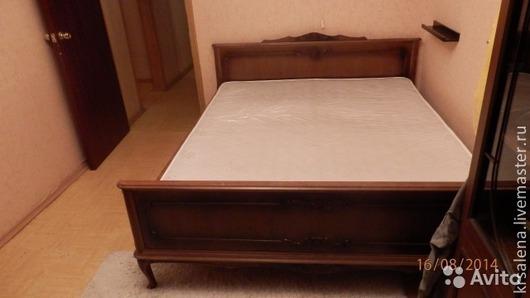 Мебель ручной работы. Ярмарка Мастеров - ручная работа. Купить Спальня. Handmade. Бежевый, состаривание, массив